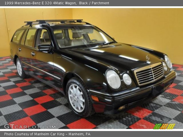 Black 1999 mercedes benz e 320 4matic wagon parchment for 1999 mercedes benz wagon