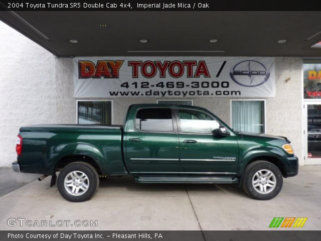 imperial jade mica 2004 toyota tundra sr5 double cab 4x4. Black Bedroom Furniture Sets. Home Design Ideas