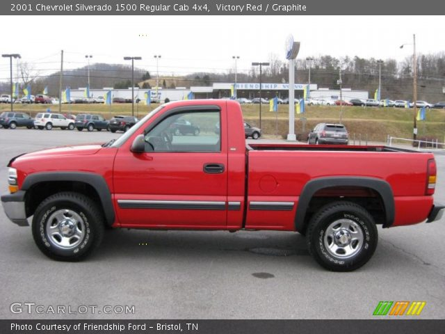 victory red 2001 chevrolet silverado 1500 regular cab. Black Bedroom Furniture Sets. Home Design Ideas