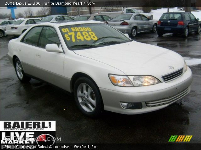 white diamond pearl 2001 lexus es 300 ivory interior