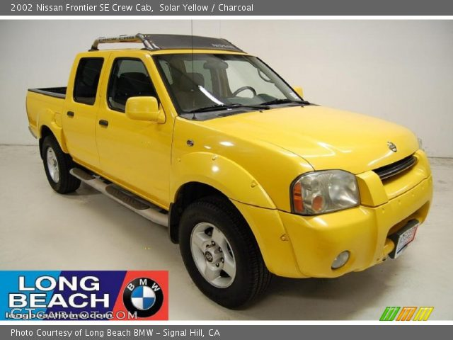 Nissan Frontier Crew Cab 2002. Solar Yellow 2002 Nissan