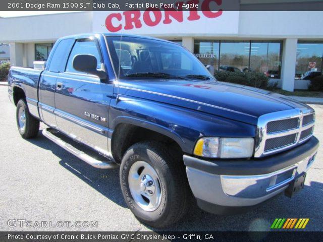 Patriot Blue Pearl 2001 Dodge Ram 1500 Slt Club Cab Agate Interior Vehicle