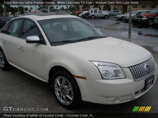 2009 Mercury Sable Premier Sedan in White Chocolate Tri Coat