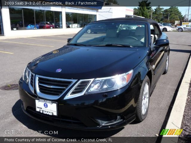 2009 Saab 9-3 2.0T Convertible in Black