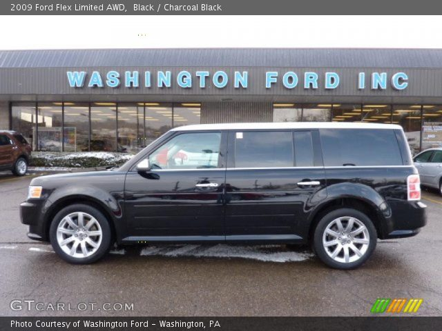 black 2009 ford flex limited awd charcoal black. Black Bedroom Furniture Sets. Home Design Ideas