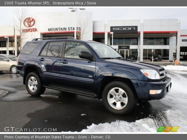 stratosphere mica 2005 toyota 4runner sr5 stone interior vehicle archive. Black Bedroom Furniture Sets. Home Design Ideas