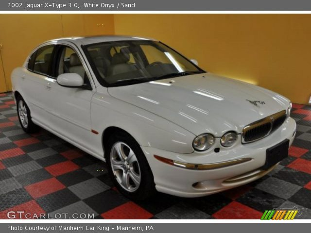 white onyx 2002 jaguar x type 3 0 sand interior vehicle archive 45035103. Black Bedroom Furniture Sets. Home Design Ideas