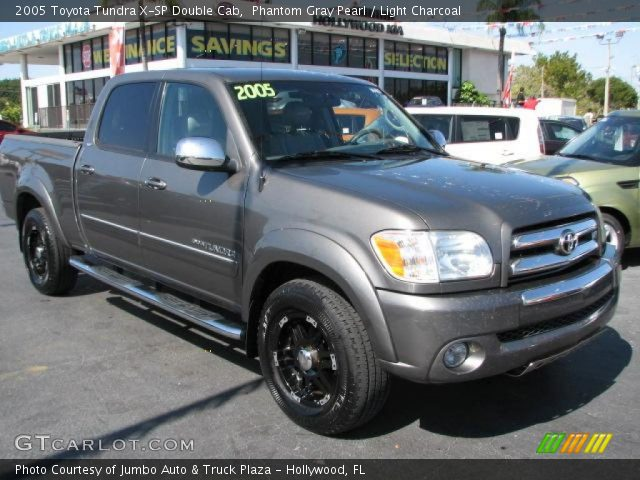 phantom gray pearl 2005 toyota tundra x sp double cab light charcoal interior. Black Bedroom Furniture Sets. Home Design Ideas