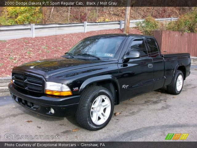 black 2000 dodge dakota r t sport regular cab mist gray interior vehicle. Black Bedroom Furniture Sets. Home Design Ideas
