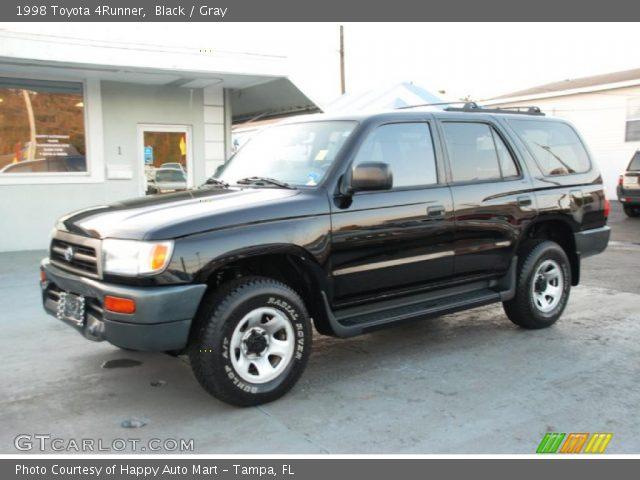 Black 1998 Toyota 4runner Gray Interior Vehicle Archive 45104187