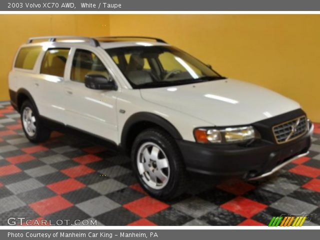 White - 2003 Volvo XC70 AWD - Taupe Interior | GTCarLot.com - Vehicle ...