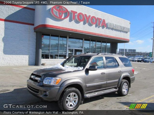 phantom gray pearl 2006 toyota sequoia sr5 4wd taupe interior vehicle. Black Bedroom Furniture Sets. Home Design Ideas