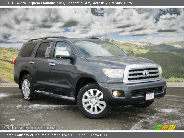 magnetic gray metallic 2011 toyota sequoia platinum 4wd. Black Bedroom Furniture Sets. Home Design Ideas