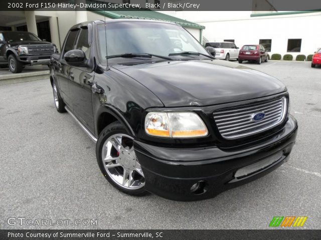 2002 Ford F150 Harley-Davidson SuperCrew in Black