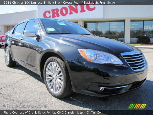 2011 Chrysler 200 Limited in Brilliant Black Crystal Pearl