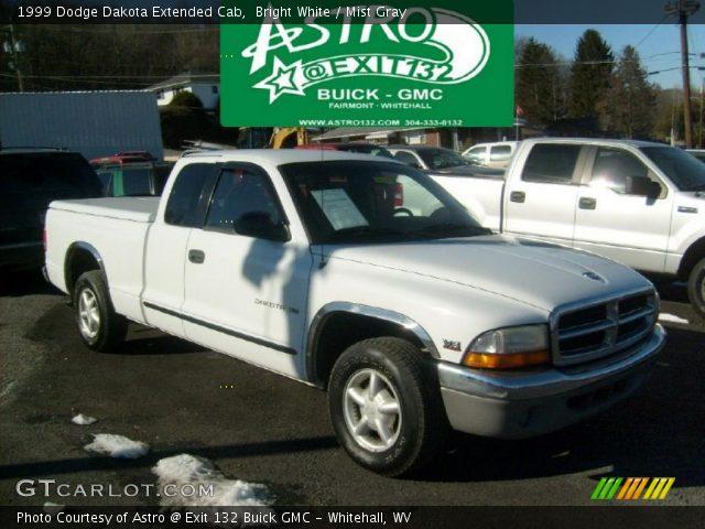 bright white 1999 dodge dakota extended cab mist gray. Black Bedroom Furniture Sets. Home Design Ideas