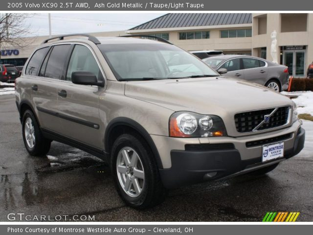 ash gold metallic 2005 volvo xc90 2 5t awd taupe light. Black Bedroom Furniture Sets. Home Design Ideas