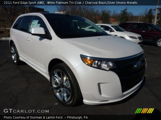 2011 Ford Edge Sport AWD in White Platinum Tri-Coat
