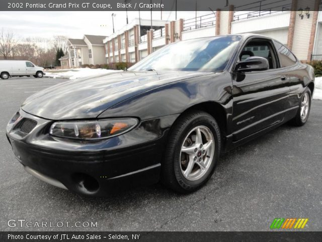 black 2002 pontiac grand prix gt coupe graphite. Black Bedroom Furniture Sets. Home Design Ideas