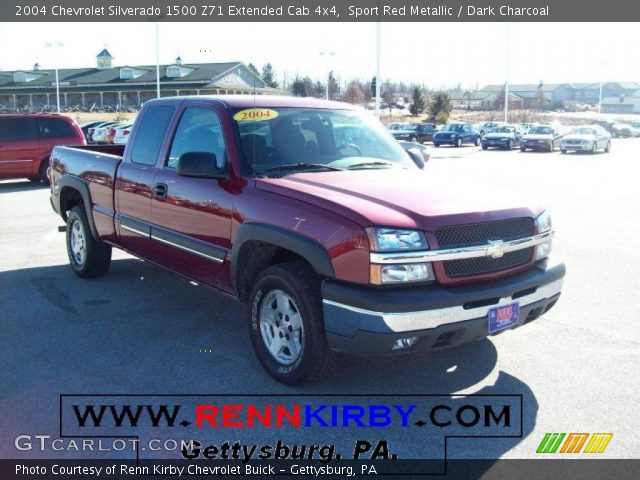 sport red metallic 2004 chevrolet silverado 1500 z71. Black Bedroom Furniture Sets. Home Design Ideas