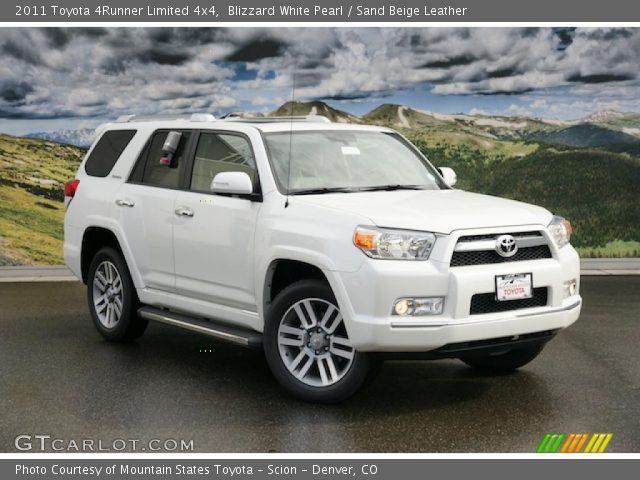 2011 Toyota 4Runner Limited For Sale >> Blizzard White Pearl - 2011 Toyota 4Runner Limited 4x4 ...