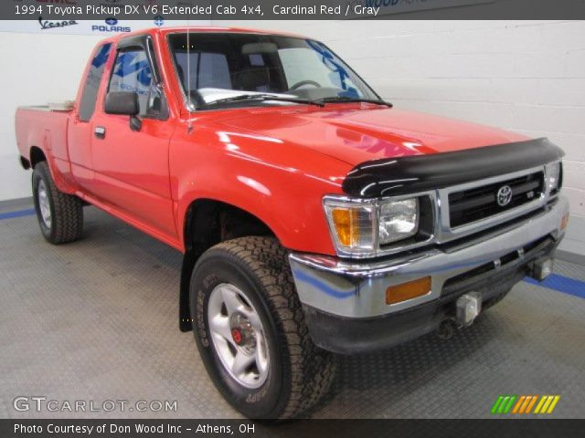 1994 Toyota Pickup DX V6 Extended Cab 4x4 in Cardinal Red