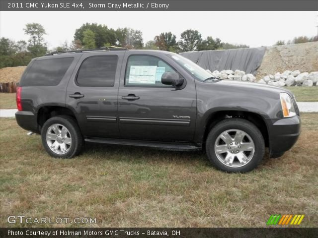 2011 GMC Yukon SLE 4x4 in Storm Gray Metallic