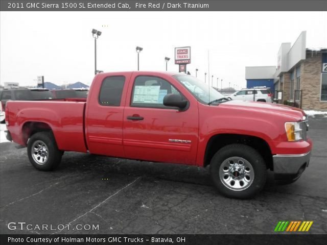 2011 GMC Sierra 1500 SL Extended Cab in Fire Red
