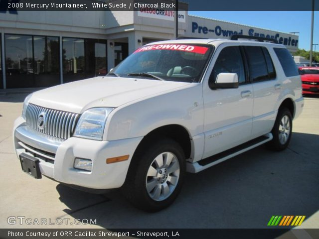 2008 Mercury Mountaineer  in White Suede