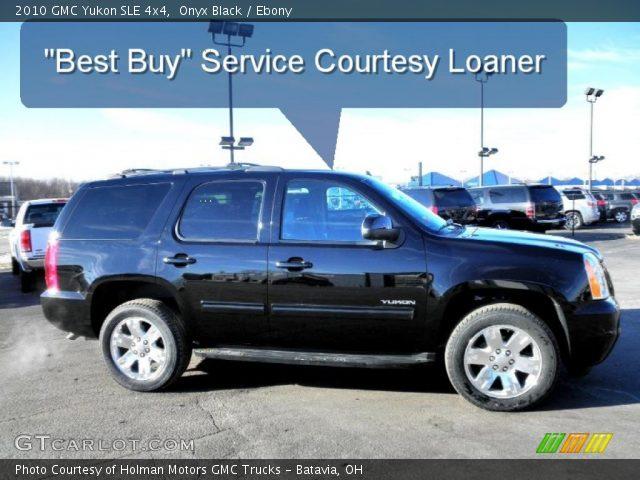 2010 GMC Yukon SLE 4x4 in Onyx Black