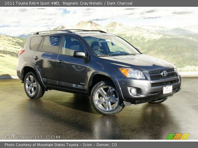 2011 Toyota RAV4 Sport 4WD in Magnetic Gray Metallic