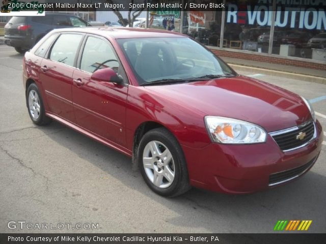 sport red metallic 2006 chevrolet malibu maxx lt wagon. Black Bedroom Furniture Sets. Home Design Ideas