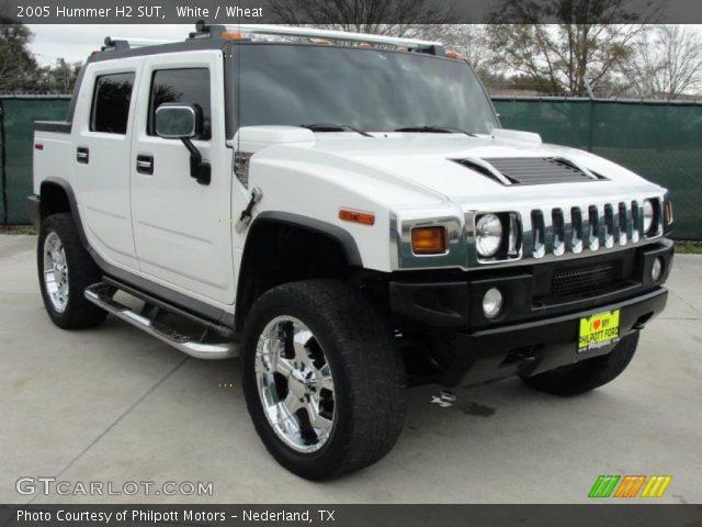 2005 Hummer H2 SUT in White