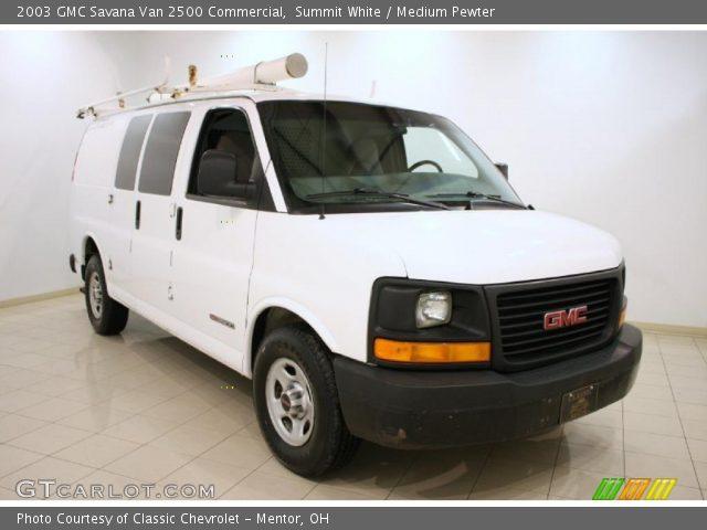 2003 GMC Savana Van 2500 Commercial