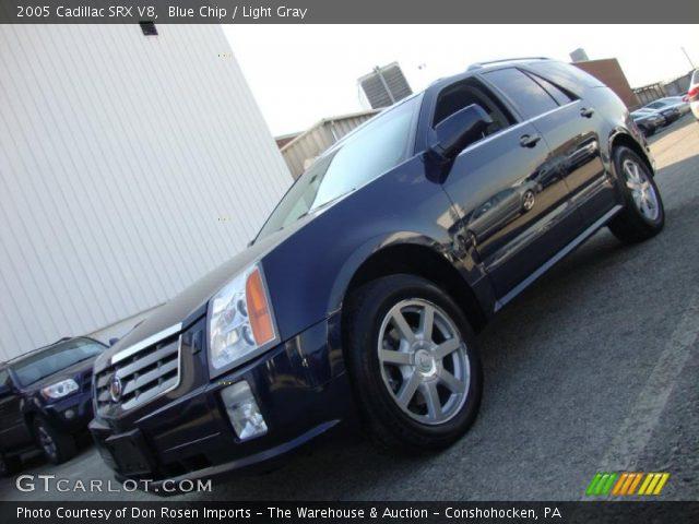 2005 Cadillac SRX V8 in Blue Chip
