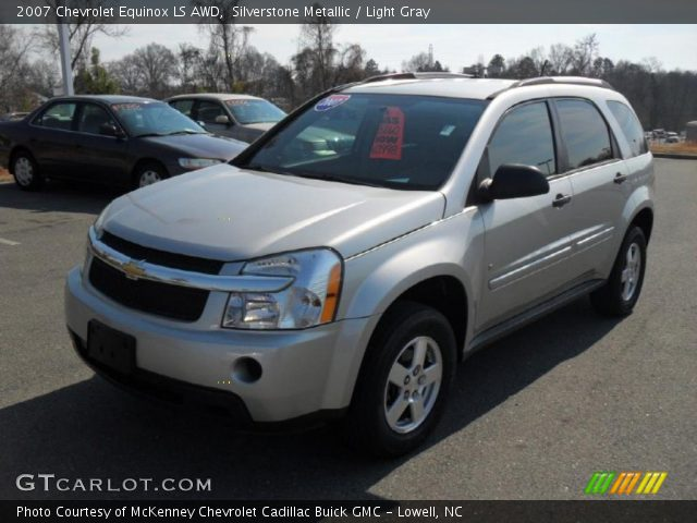 silverstone metallic 2007 chevrolet equinox ls awd. Black Bedroom Furniture Sets. Home Design Ideas
