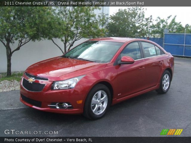 2011 Chevrolet Cruze LT/RS in Crystal Red Metallic Tintcoat