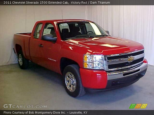 victory red 2011 chevrolet silverado 1500 extended cab. Black Bedroom Furniture Sets. Home Design Ideas