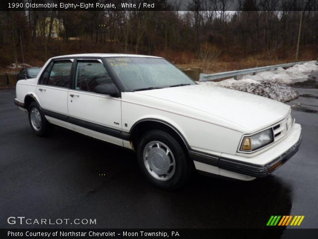 1990 Oldsmobile Eighty-Eight Royale in White. Click to see large photo ...