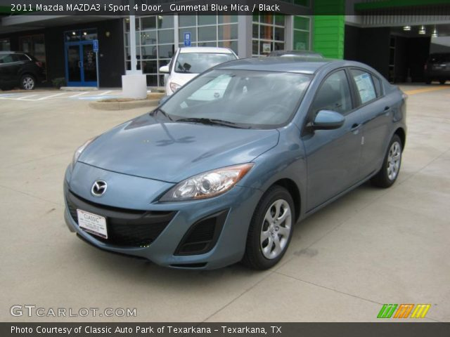 2011 Mazda MAZDA3 i Sport 4 Door in Gunmetal Blue Mica