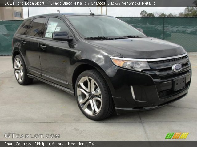 tuxedo black metallic 2011 ford edge sport charcoal. Black Bedroom Furniture Sets. Home Design Ideas