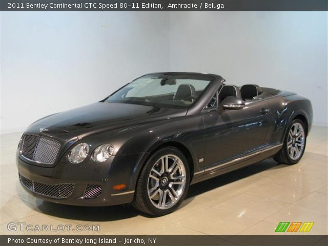 2011 Bentley Continental GTC Speed 80-11 Edition in Anthracite