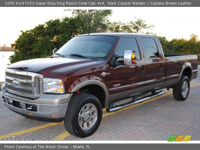 dark copper metallic 2006 ford f350 super duty king. Black Bedroom Furniture Sets. Home Design Ideas