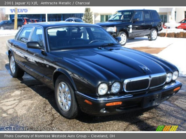 anthracite metallic 2001 jaguar xj xj8 charcoal interior vehicle archive. Black Bedroom Furniture Sets. Home Design Ideas
