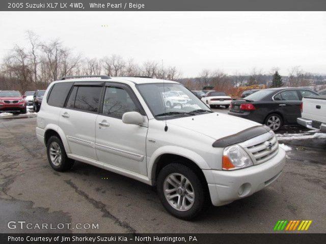 2005 Suzuki XL7 LX 4WD in White Pearl