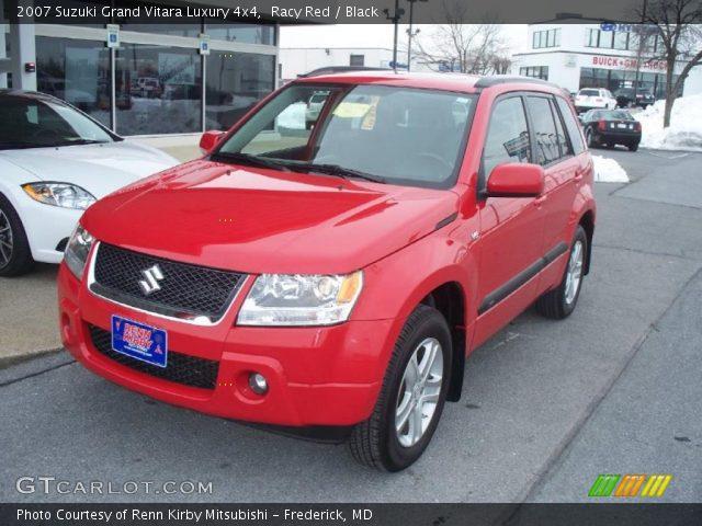 2007 Suzuki Grand Vitara Luxury 4x4 in Racy Red