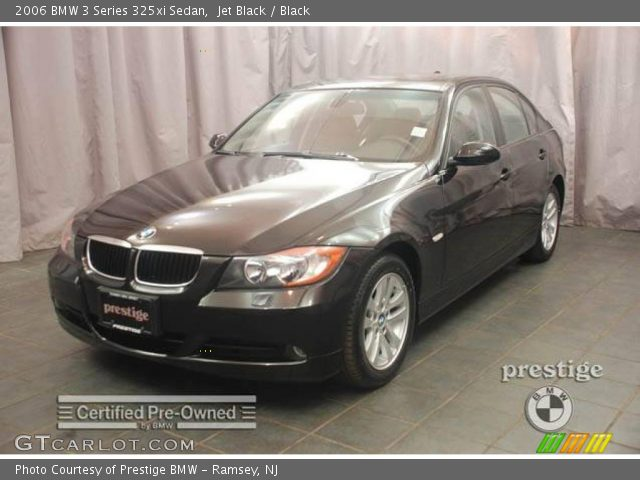 jet black 2006 bmw 3 series 325xi sedan black interior vehicle archive 4554279. Black Bedroom Furniture Sets. Home Design Ideas