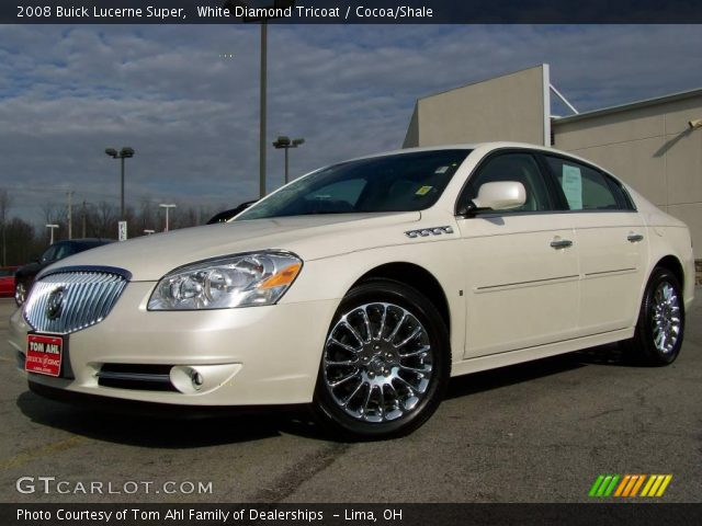 2008 Buick Lucerne Super in White Diamond Tricoat. Click to see large ...