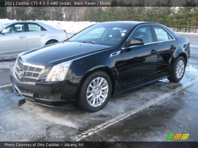 2011 Cadillac CTS 4 3.0 AWD Sedan in Black Raven