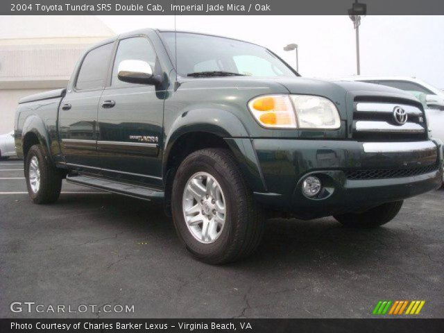 imperial jade mica 2004 toyota tundra sr5 double cab. Black Bedroom Furniture Sets. Home Design Ideas